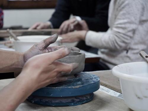 ジユクの陶芸教室