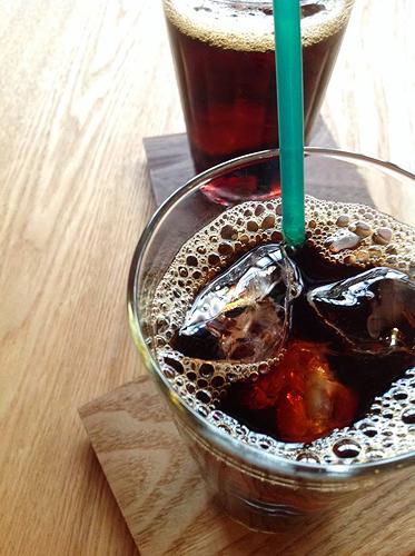 ジユクのアイスコーヒー