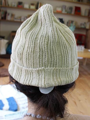 ニット帽こんな色に染まったらいいな〜