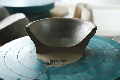 橿原市のカフェで陶芸教室。