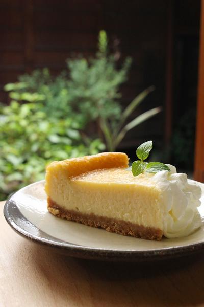 カルピスのチーズケーキ