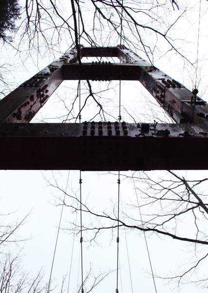つり橋なんかも渡ったりして、ちょっとハイキング。